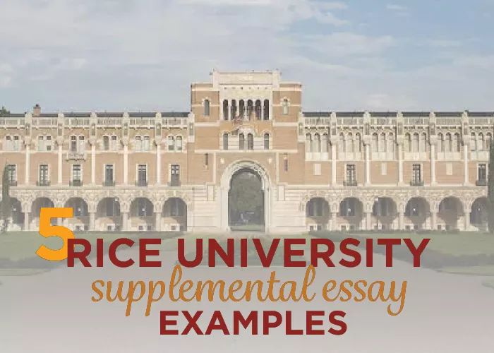 rice university supplemental essay examples | rice university, Presentation templates
