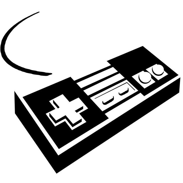Nintendo Controller Stencil
