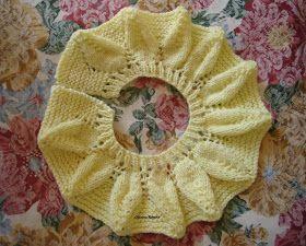 Amostra feita com lã grossa, para melhor visualização            Material: lã bebê, agulha 3,5.   Coloca 72 pontos.   Trabalha 5 carreiras e...