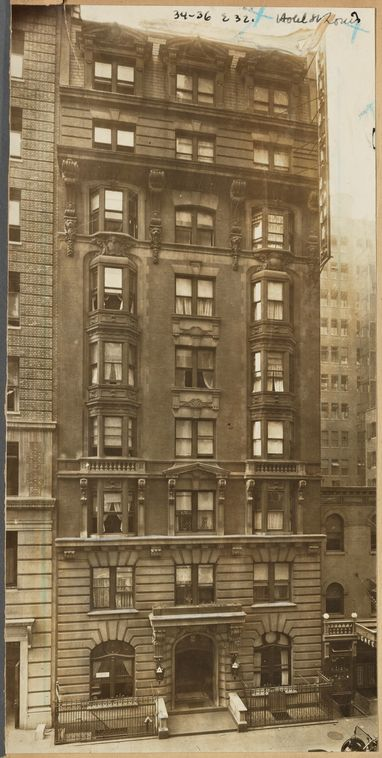 Hotel St. Louis, NYC 1900