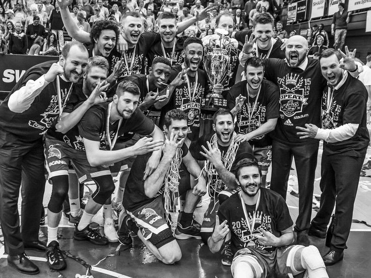 Södertälje Kings is the winner for the third time in a row. Photo by David Nilsson Hamne