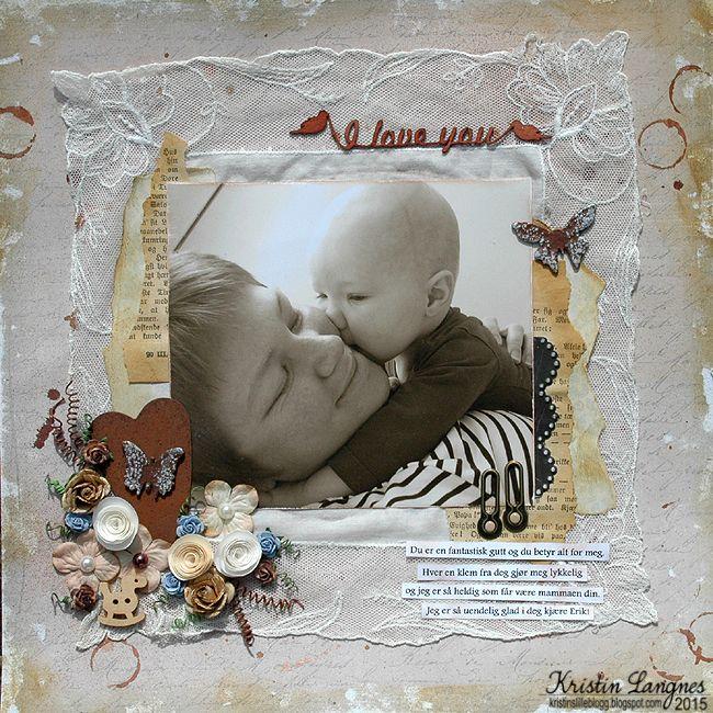 Kristins lille blogg: I love you
