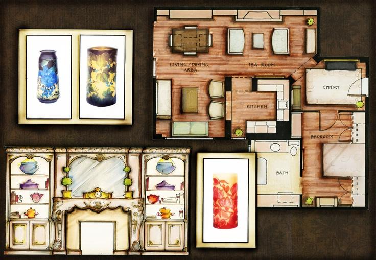 41 best images about interior architectural design - Interior design institute orange county ...
