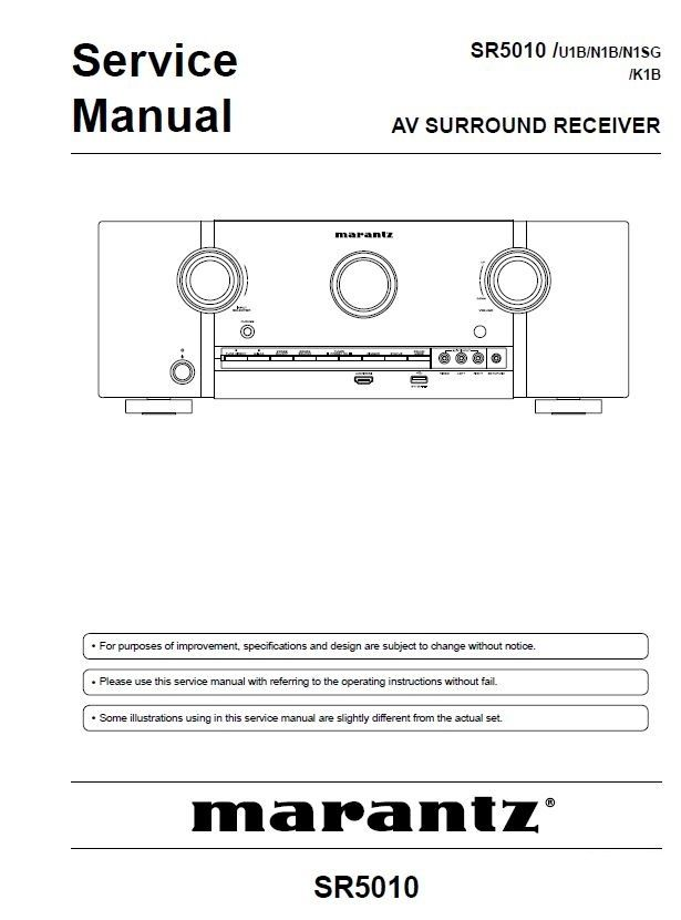 Pin Em Marantz Audio Video Devices Service Manuals