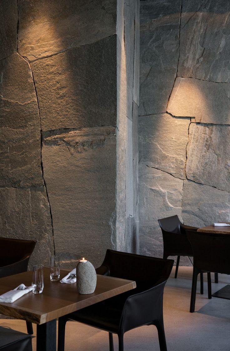 Küchendesign Ägypten  besten steinwand bilder auf pinterest  steinwand wohnideen und