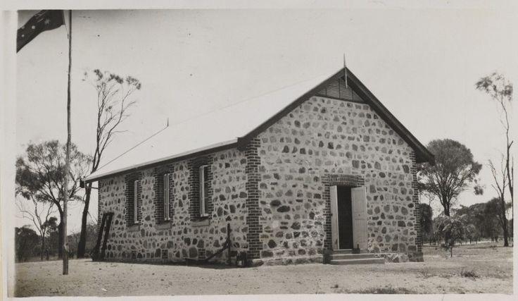 BA368/5/40: Stone church, Carrolup Native Settlement, Western Australia, ca. 1916.  https://encore.slwa.wa.gov.au/iii/encore/record/C__Rb5576874