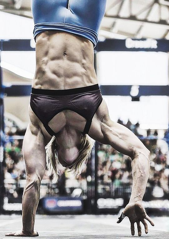 TOTAL BODY CONTROL by blonde muscle babe, Crossfit athlete & #Fitness model…