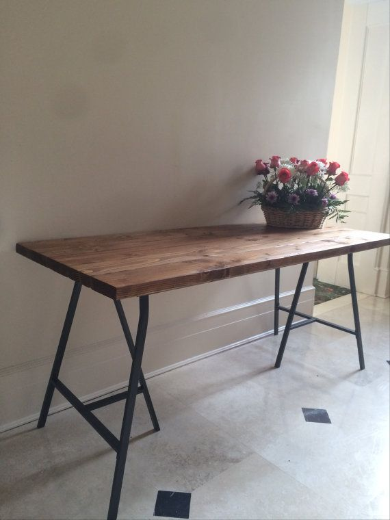 NEW Rustic Table Farmhouse Large Dining Table by goldenrulenyc, $210.00