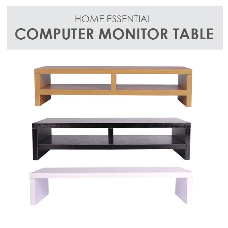 [S$9.90](▼57%)[SOL HOME]Computer Standing Table / Computer Monitor Table / Computer Monitor Stand
