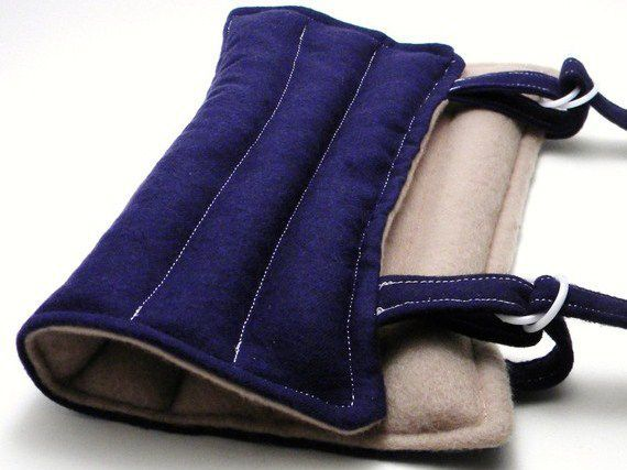 Knee Heat Pack Ice Pack, Microwave Knee Wrap for Knee Pain, Arm Wrap Elbow Wrap - Hot Cold Pack, Microwave Heat Pads, Heat Therapy Rice Bag from HotColdComfort