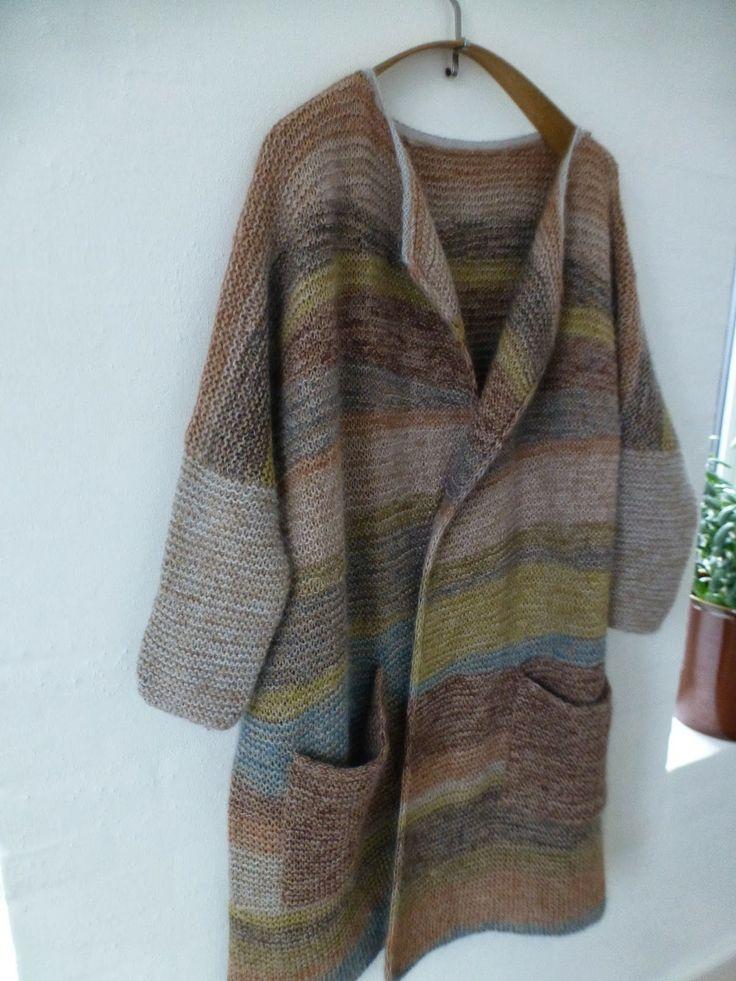 Kashmir for my self. Used yarn from www.garnudsalg.dk.