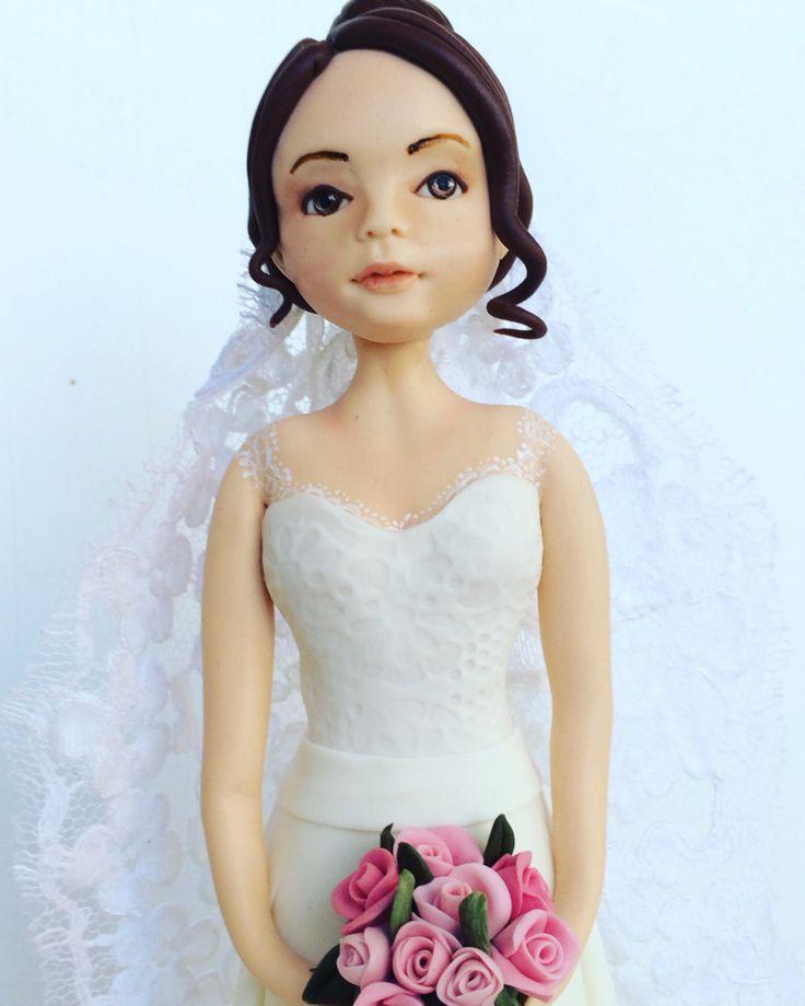 Sposa in pasta di zucchero #spaziocri