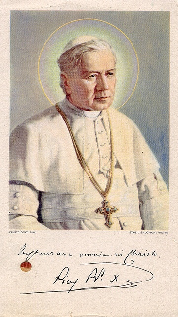 Pope Pius X by profkaren, via Flickr