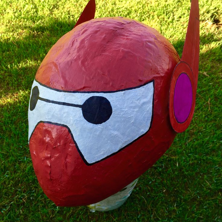 baymax head pi ata for a birthday party stuff i made pinterest f tes f tes d. Black Bedroom Furniture Sets. Home Design Ideas
