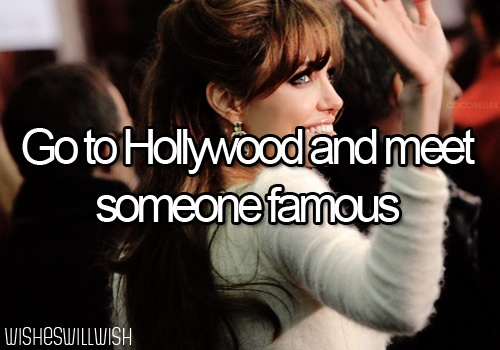 Sorta did this, was at after party with a few celebs. Didn't get to meet them cuz they were hiding in VIP