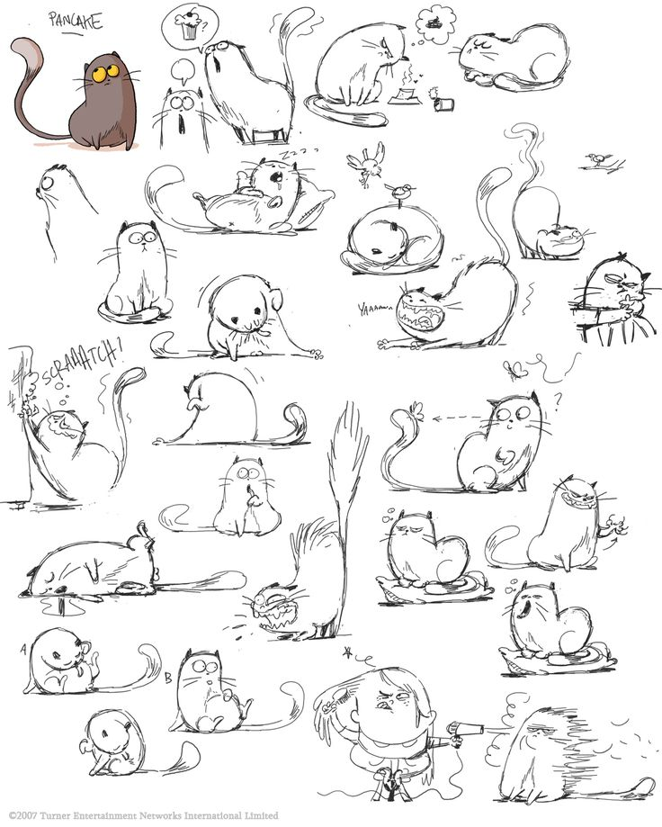"le vide-grenier de Polyminthe: More development on ""Little Rikke"" Find more at https://www.facebook.com/CharacterDesignReferences if you are looking for: #art #character #design #model #sheet #illustration #best #concept #animation #drawing #archive #library #reference #anatomy #traditional #draw #development #artist #animal #animals #felines #cats #cat"