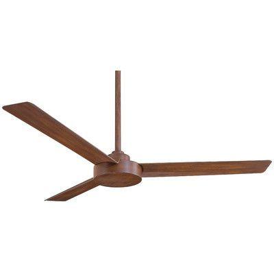 "Minka Aire 52"" Roto 3 Blade Ceiling Fan & Reviews | Wayfair | $179.95"