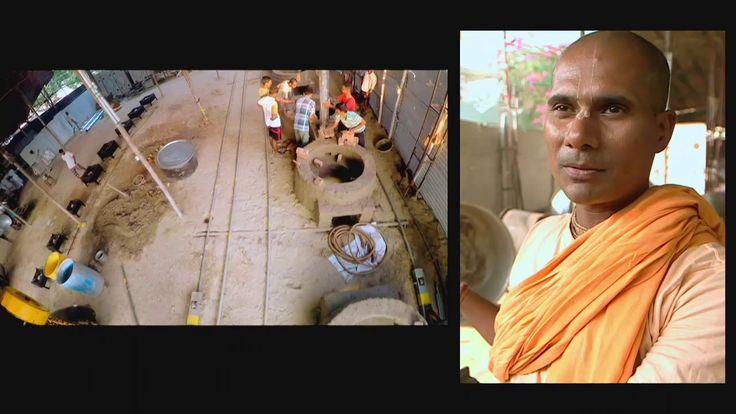ISKCON's mega kitchens on National Geographic Channel. India's First Meg...