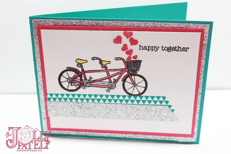 Hi everyone!   Happy Monday :) I am back today with a really sweet card using some new items from the Stampin' Up! 2016 Sale-a-bration  bro...