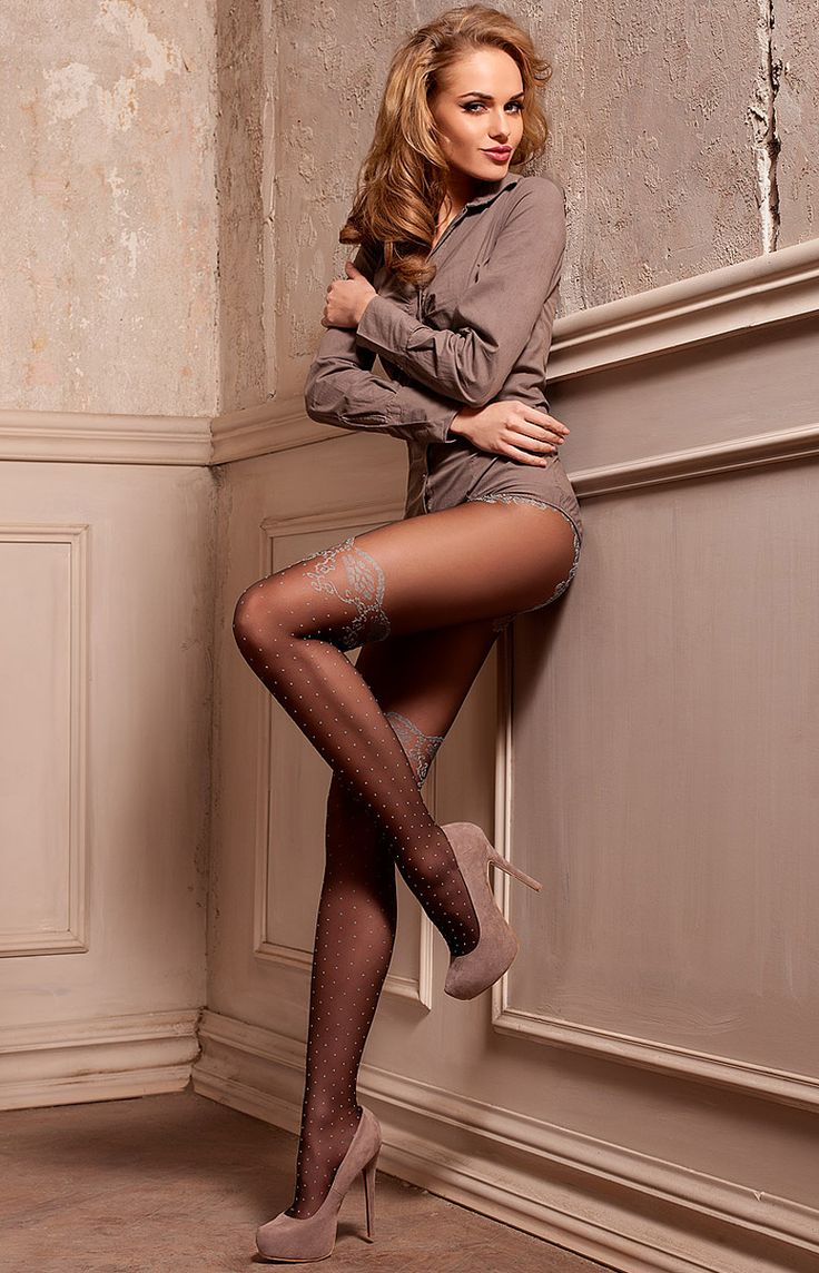 Heels stockings pantyhose