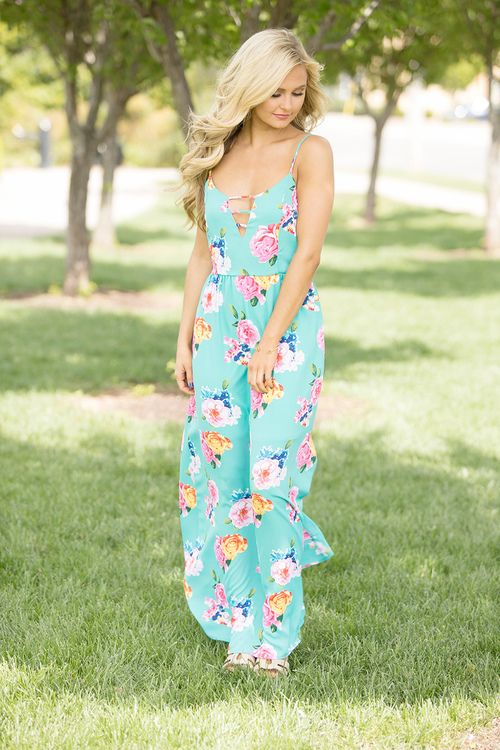 Beauty At The Beach Maxi Dress - The Pink Lily