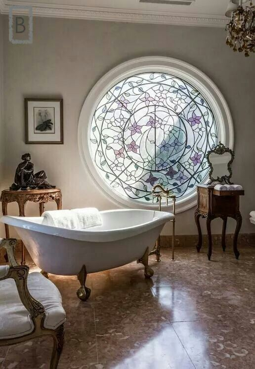 47 Best Bathroom Stained Glass Images On Pinterest