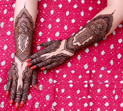 Rajasthani Mehndi designs - Gangaur Festival mehndi designs - Health care, beauty tips...
