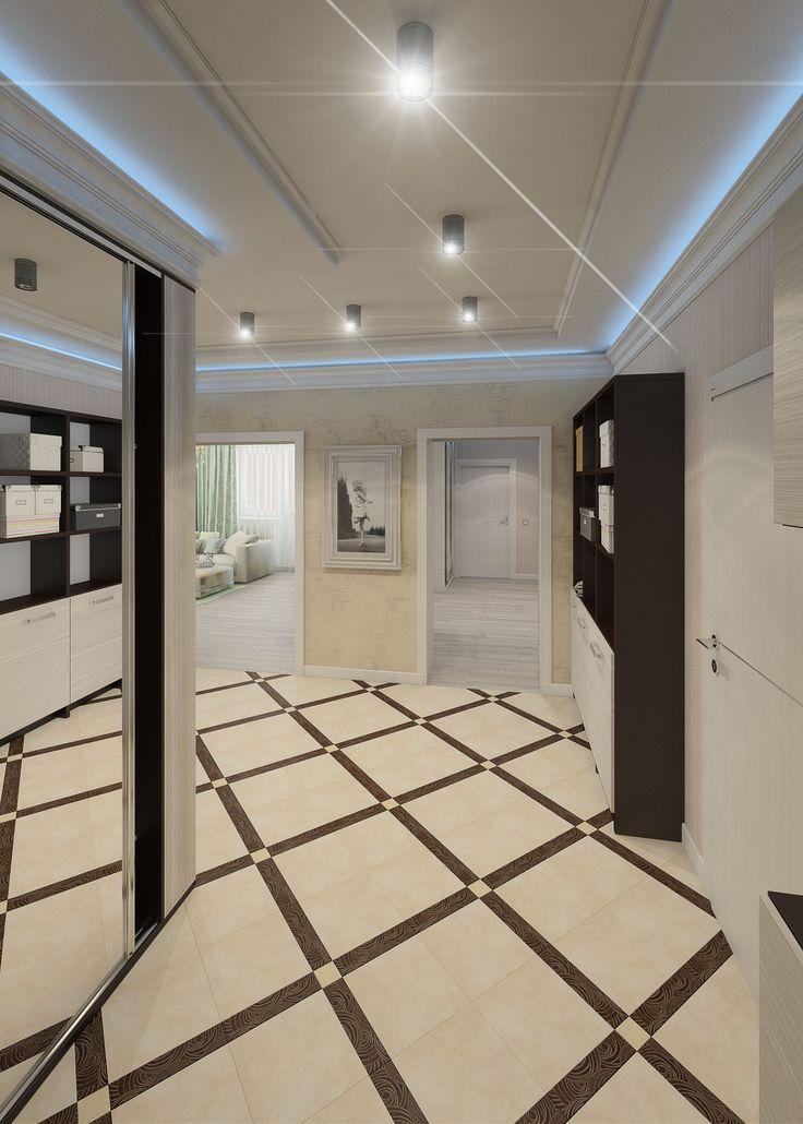 Эклектика, особенно популярная в последнее время, стала тем стилем, в котором решила оформить свою большую однокомнатную квартиру (78,5 кв. м) в доме на ул. Гвардейской, 13 молодая семейная пара.   Арт-деко, классика и элементы современного стиля прекрасно совмещены в этом интерьере в светлых тонах с яркими цветовыми контрастами, для которых использованы шоколадный, оливковый, черный и коричневый тона.   Сайт: http://саратов-дизайн.рф Группа: http://vk.com/designsaratov Телефон: 89271332827