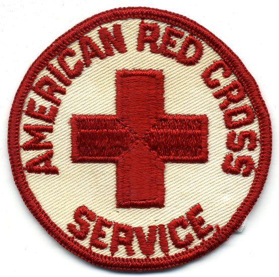 American Red Cross insignia. Gift of Violet Kochendoerfer, The National WWII Museum Inc., 2000.183