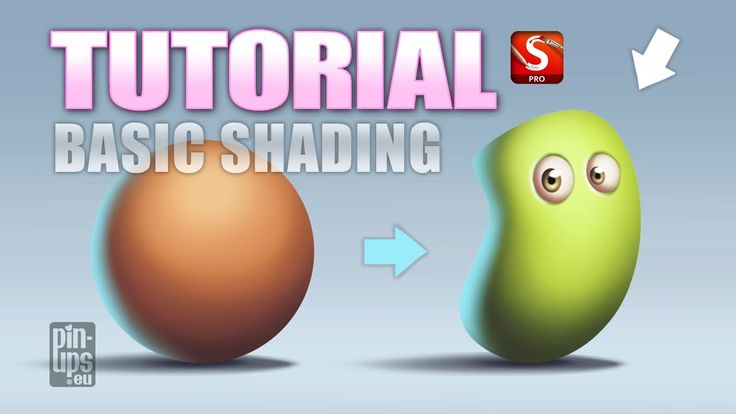 Autodesk Sketchbook Pro Tutorial : Basic Shading