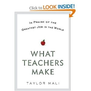 My mother-in-law bought this great book for us to read! Lots of *head shaking in agreement* moments. A must pick up for educators all around! -CC