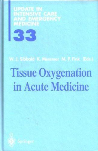 Tissue Oxygenation in Acute Medicine