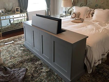 Elegant Tv Lift Cabinet for End Of Bed