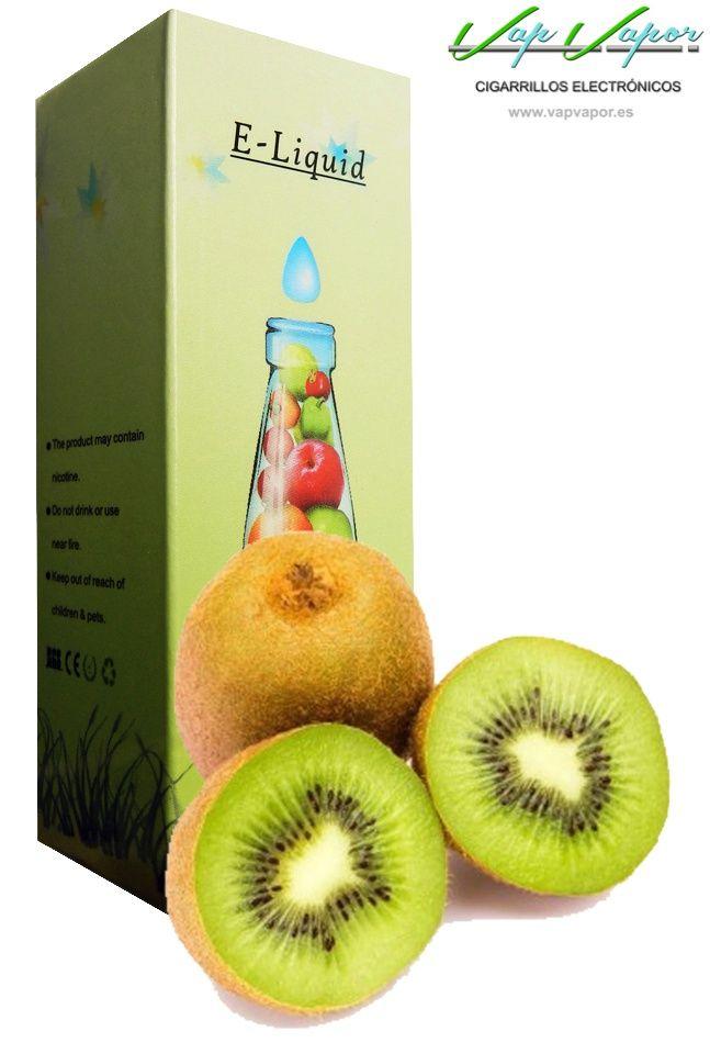 e-liquid Kiwi  http://www.vapvapor.es/liquido-frutas-cigarrillo-electronico  Líquidos para cigarrillos electrónicos de la marca e-liquid. Nuestra marca e-liquid se caracteriza por su gran variedad de aromas y sabores.     - e-liquid sabor Kiwi (afrutado)     - Categoría: frutas