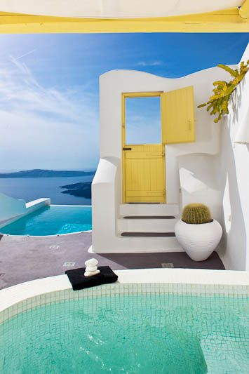 Orfeas Suite | Dreams Luxury Suites | Imerovigli, Santorini I will go to Greece and I will stay in this very room. Someday.:)