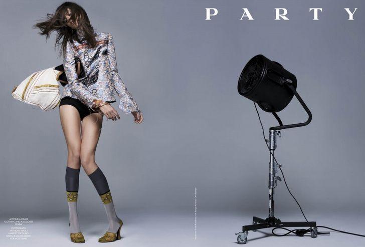 """CR Fashion Book Issue 06 """"Fantasy campaigns"""" – pretty clever (Prada)"""