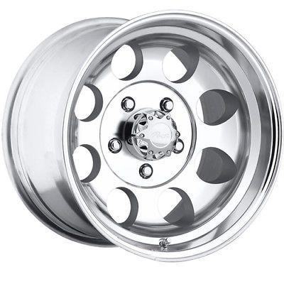 17x9 Polished Pacer LT 5x135 -12 Wheels Atturo Trail Blade MT LT265/70R17 Tires