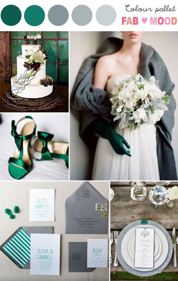 emerald Archives | Fab Mood - Wedding Colours, Wedding Themes, Wedding colour palettes