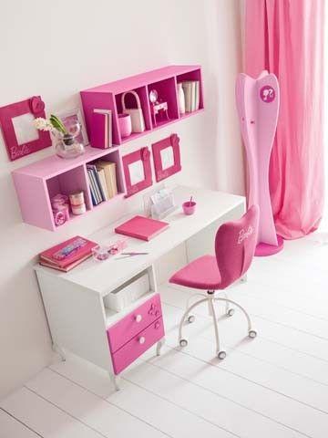 Síguenos en www.facebook.com/pasionDcasa Composiciones para cuarto de niña Barbie Vanity. Muebles de servicio, camas, armarios. #dormitorio para #niñas de #Barbie - Doimo Cityline Encuentralo en Pasión D Casa Costa Rica https://www.facebook.com/pasionDcasa