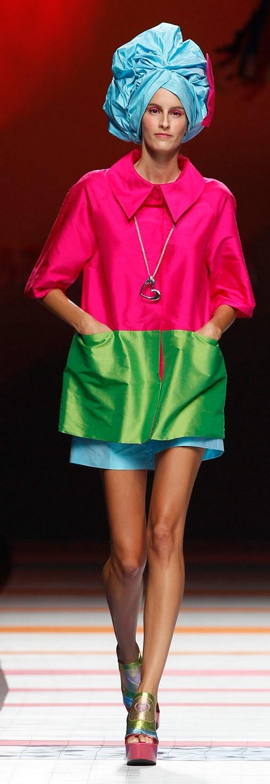 Sistren Look: cool chic style fashion: Agatha Ruiz de la Prada 2011 Settimana della moda di Madrid