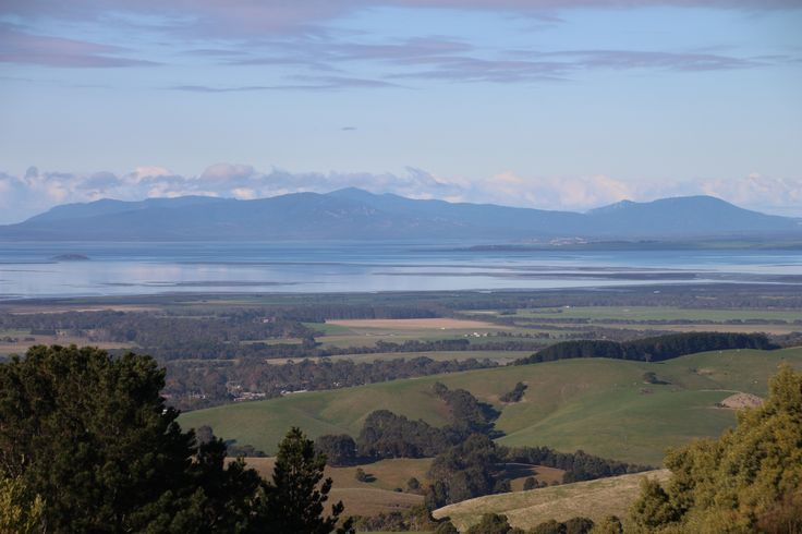 Corner Inlet, looking over at Wilsons Prom, South Gippsland, Victoria, Australia