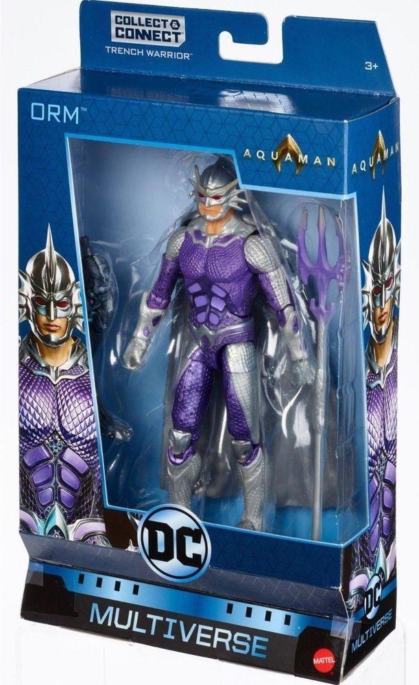 DC Multiverse Orm Figure 2018 Mattel Trench Warrior Aquaman