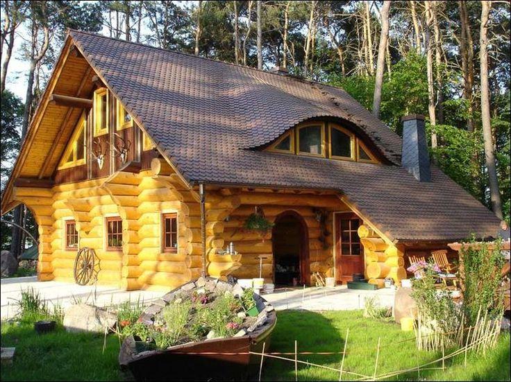 Beautiful Garten Blockhaus Wohn Blockhaus H user Kleine Blockhaus Kleine H tte Holzhaus Holzbearbeitung Projekte Baumh user Real Wood