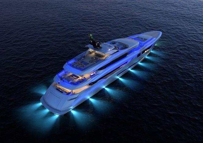 Mondomarine M60 Yacht Launch