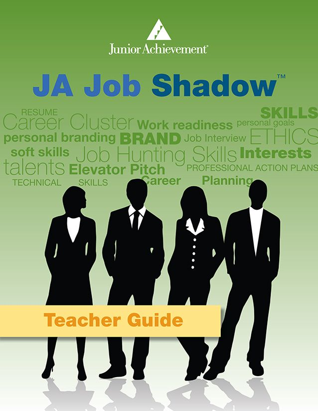 Do your students go on a #JobShadow or does you company host a job shadow? Junior Achievement has free curriculum for you. www.jast.org -JA Programs - JA