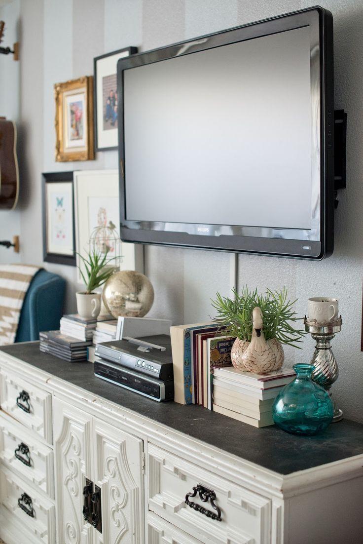 Best 25 Decorating Around Tv Ideas On Pinterest Tv Wall
