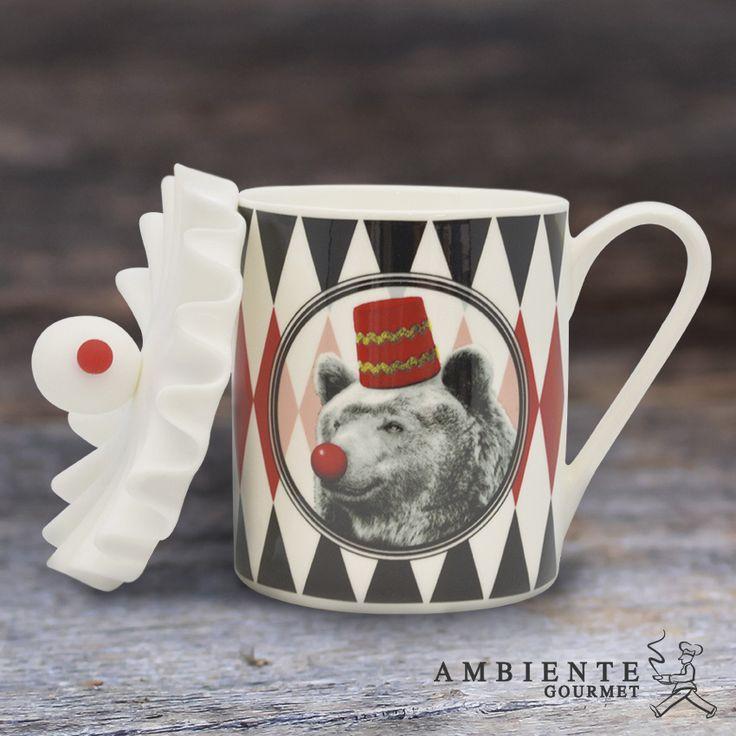 Ambiente Gourmet El mug oso será un toque divertido para el café en las mañanas y evitar que se te enfríen tus bebidas. Alamedas Centro Comercial Montería #Piensaenti