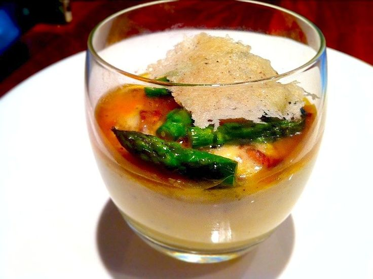 Truffled Parmesan Mousse. A simple starter to construct, maximum reward for the results.