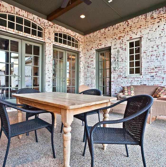 Porch Vs Deck Which Is The More Befitting For Your Home: 16 Best Whitewashed Brick Images On Pinterest