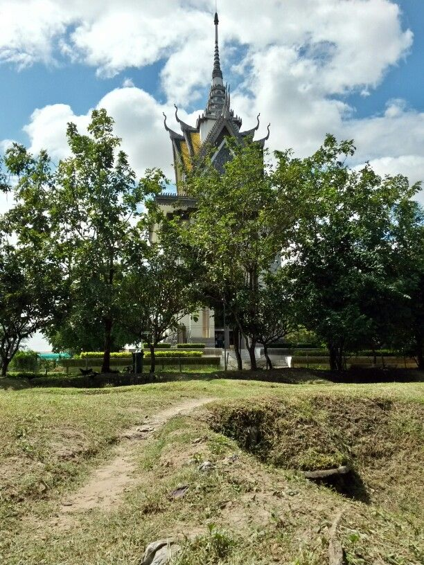 Killing Fields, Phnom Phen. Cambodia.